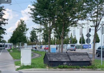 Wohnimmobilie - Augsburg-Haunstetten - Senefelder Str. 1 und 1a - Umgebung